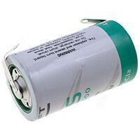 SAFT LS33600CNR - LITHIUM BATTERY D 3.6V 17Ah PCB