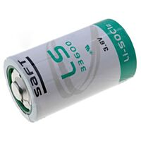 SAFT LS33600 - LITHIUM BATTERY D 3.6V 17000mAh
