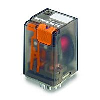 Schrack MT321024 - Relay 24v 10A 240V Non-Latching - 3PDT