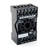 SCHRACK MT78750 - RELEKANTA 11-PIN MT3 SARJALLE
