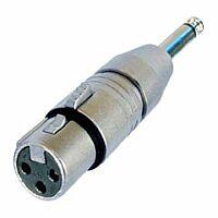 NEUTRIK NA2FP - Sovitin XLR naaras/plugi 6.3mm
