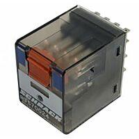 Schrack PT270012 - Relay 12v 12A 240V Non-Latching - DPDT