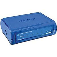 TRENDNET TE100-S5 - Ethernet Switch 5 Port 10/100 Mbps (RJ45) - Plastic