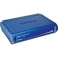 TRENDNET TE100-S8 - Ethernet Switch 8 Ports 10/100 Mbps (RJ45) - Plastic