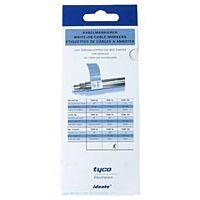 Cable identifier Self-Laminating 76x25x25mm White - RAYCHEM TKM75-N
