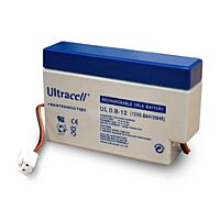 ULTRACELL UL0.8-12 - LEAD BATTERY 12V 0,8Ah 4-5 YEARS