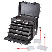 GTLINE GT AI1 KT02 - Työkalulaukku laatikosta, pyörät