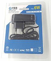 12V Virtalähde 0.5A 6W - Plug-in