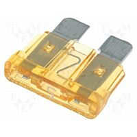 AMF5A-L - Car Fuse 5A 32 VDC Lenght 19mm (0287005.PXCN) - Brown