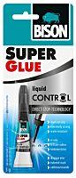 BISON SUPER GLUE CON - Control pikaliima 3g
