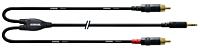CORDIAL CFY1.5WCC - 3,5mm Stereoplugi - 2  x RCA U 1.5m