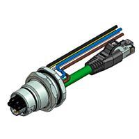 CONEC 57-02207 - Supercon B17 panel conn 5+4 pins