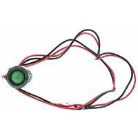 12VDC LED vihreä 12mm reikään
