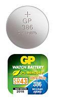GP BATTERIES SR43W/386F - Kelloparisto 386F/SR43W
