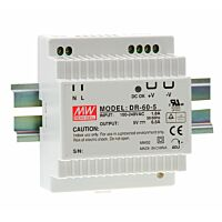 MEAN WELL DR-60-12 - DIN Rail Power Supply 12V 4.5A 60W