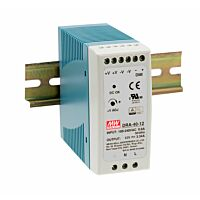 MEAN WELL DRA-40-12 - DIN Rail Power Supply with Dimming 12V 3.34A 40W