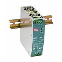 MEAN WELL EDR-120-24 -DIN Rail Power Supply 24V 5A 120W