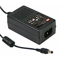 18V Power Supply 1A 18W MEAN WELL GS18A18-P1J