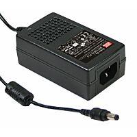 MEAN WELL GST18A05-P1J - Industrial Desktop Adapter 5V 3A 18W