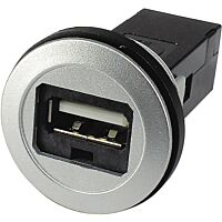 HARTING 09 45 452 1901 - USB2.0 paneeli jack A-A