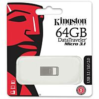 KINGSTON KING-64GB-MICRO - USB3.1 muistitikku 64Gb