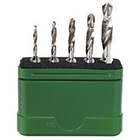 WIHA 79187 - Combination Drill Bit Set, 5 pcs