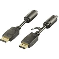 YES DP-1010 - HDMI / DISPLAYPORT CABLE 1m