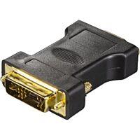 DELTACO DVI-4-K - DVI uros / VGA naaras