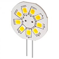 YES LED-G4S-9VA - WHITE 9XLED G4 BASE