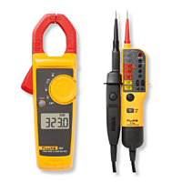 Fluke 323 Clamp meter and T110 Voltage & Continuity tester
