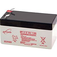 ENERSYS GENESIS NP1.2-12 LEAD BATTERY 12V 1.2AH 3-5 YEARS
