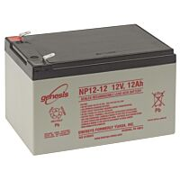 ENERSYS GENESIS NP12-12  LEAD BATTERY 12V 12AH 3-5 YEARS