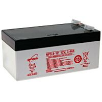 ENERSYS GENESIS NP3.4-12 LEAD BATTERY 12V 3.4AH 3-5 YEARS