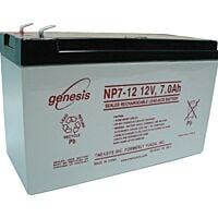 ENERSYS GENESIS NP7-12  LEAD BATTERY 12V 7AH 3-5 YEARS
