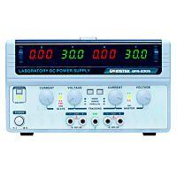 GW Instek GPS-2303 - DC POWER SUPPLY 2CH 30/60 V 3/6 A
