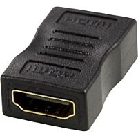 DELTACO HDMI-12-K - HDMI Female / Female Adapter
