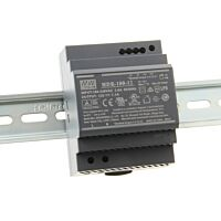 "MEAN WELL HDR-100-12 - DIN Rail ""Slim"" Power Supply  12V 7.1A 82W"
