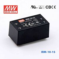 MEAN WELL IRM-10-15 - Power Supply PCB 15V 0.67A 10W