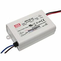 MEAN WELL APV-25-24 - Led Driver 25W 24Vdc 1.05A - Constant Voltage
