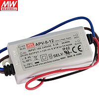 MEAN WELL APV-8-12 - Led Driver 8W 12Vdc 0.67A - Constant Voltage