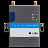 SIRETTA QUARTZ-COMPACT 4G/LTE ROUTER 1 X LAN 1 X SIM 1 x GPS (NO SIO OR WIFI)