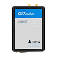 Siretta ZETA 2G/GRPS Modem with RS232 & GPS - Global