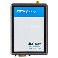 SIRETTA ZETA FAMILY 4G(LTE) 3G(UMTS) 2G(GPRS) EU FREQ MODEM WITH RS232 & USB