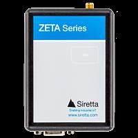 SIRETTA ZETA FAMILY CAT M 4G(LTE) 2G(GPRS) W/WIDE FREQ LOW POWER MODEM WITH RS232, USB & GPIO