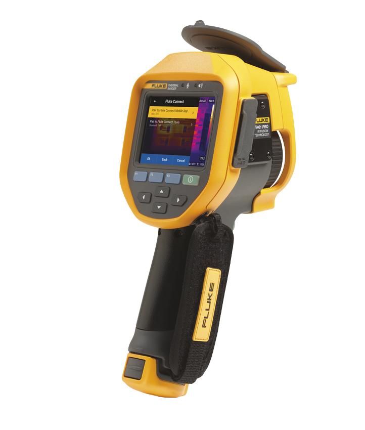 FLUKE TI401PRO - Lämpökamera 640x480 9Hz