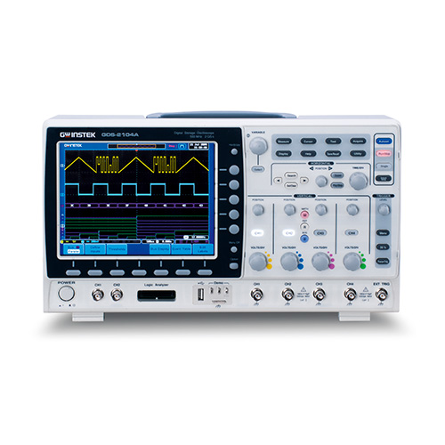 100MHz, 4-Channel, Digital Storage
