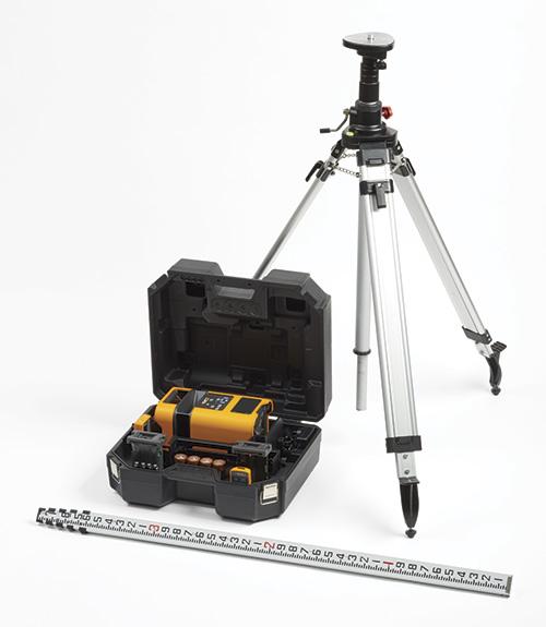 FLUKE PLS HV2R KIT - Manual Slope Red Rotary Laser Kit