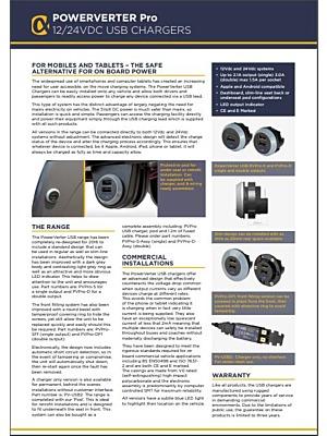 Alfatronix USB PoverVerter Pro Catalogue
