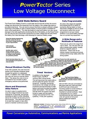 Alfatronix PowerTector katalogi