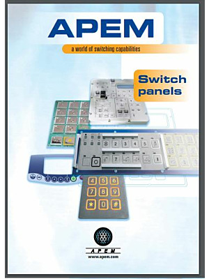 Apem Switch Panels catalogue